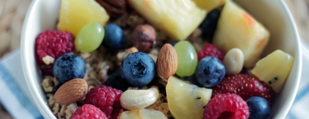 Fruit And Nut Snack Bowl