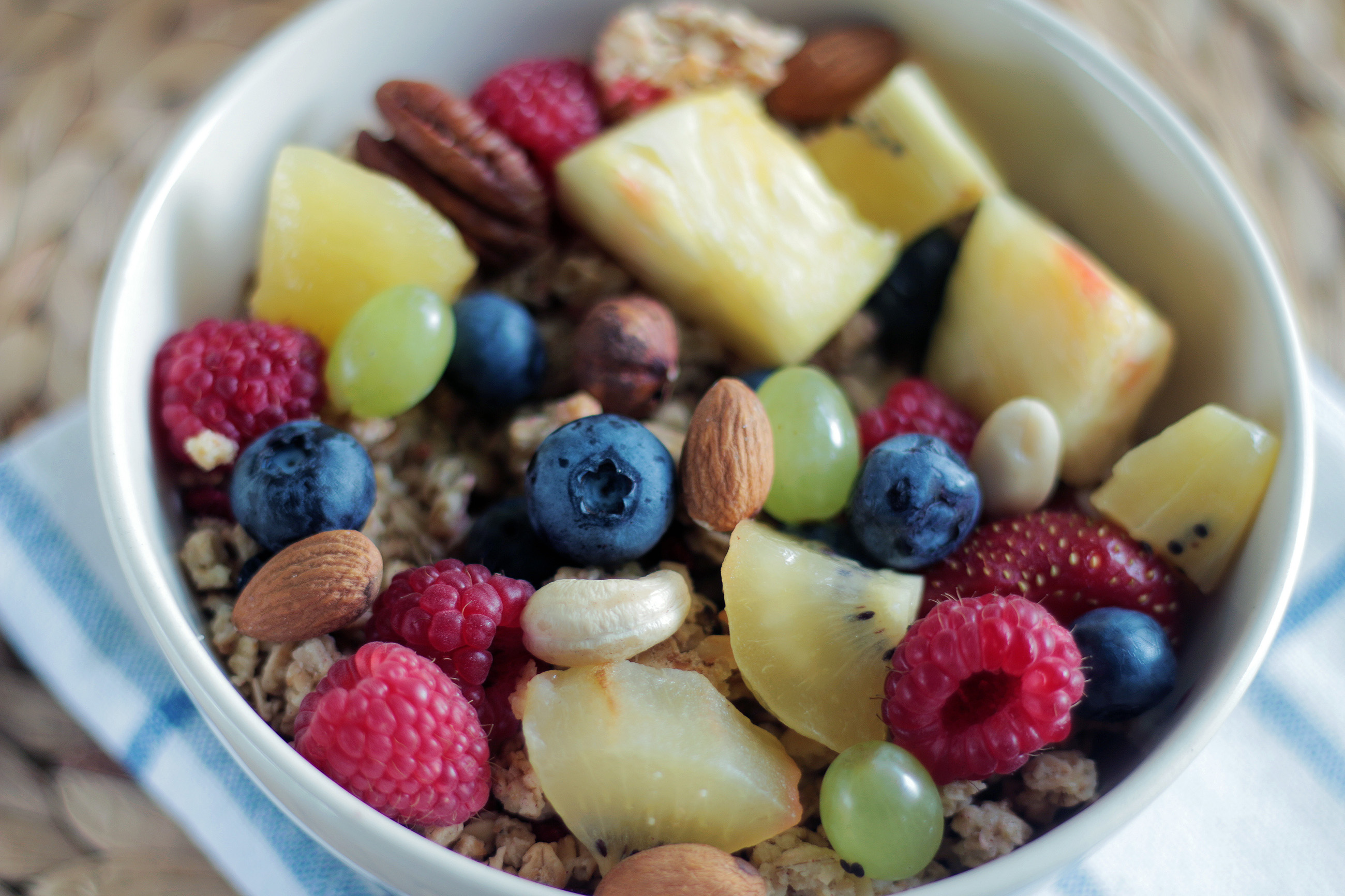 Recipe Fruit and Nut Snack Bowl